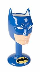 DC Comics Batman 3D Ceramic Goblet Novelty Drinkware One Size Blue