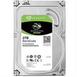 Seagate Barracuda 2.0TB Sata 6GBPS With 64MB Cache Internal Hard Drive 2 Year Warranty