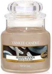 Yankee Candle Seaside Woods Small Jar Retail Box No Warranty Product Overviewseaside Woodsl Small Jar Scented Candle A Comforting Yet Intriguing Fragrance. The Traditional