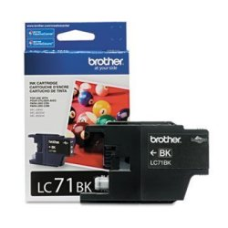 Brother BRTLC71BK - LC71BK LC-71BK Innobella Ink