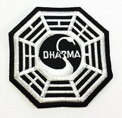 PA International Trading Co.,Ltd Dharma Diy Applique Embroidered Sew Iron On Patch P 67