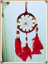 d923937df5 Meta Funky Bslino Dream Catchers Brown Handmade Feather Native American  Dreamcatcher Circular Net For Car Kids Bed Room Wall Han