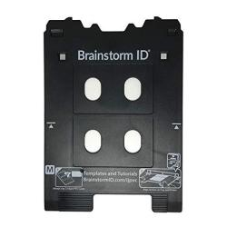 PVC Inkjet Card Tray For Canon Pixma TS8000 And TS9000 Series Printers Canon M Tray Printers By Brainstorm Id
