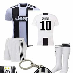 premium selection ed9b2 2e01e Juventus Serie A 2018 19 Ronaldo Dybala Replica Jersey Kid Kit : Shirt  Short Socks Soccer Bag And Pvc Key P. Dybala Size 28 | R926.00 | Soccer |  ...