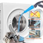 PetOde Dryer Vent Cleaner Kit Dryer Vent Vacuum Attachment Lint Remover Power Washer And Dryer Vent Vacuum Hose Blue