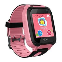 Kids Smart Watch Phone Smartwatches For Children With Gps Tracker Sim Card Anti-lost Sos Call Boys And Girls Birthday Compatible