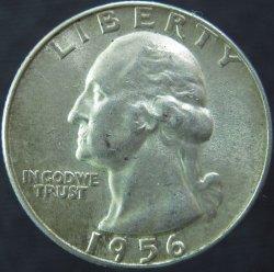US Mint 1956 Silver Washington Quarter