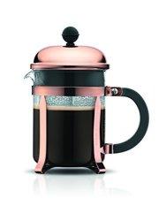 Bodum Chambord 4 Cup French Press Coffee Maker Copper 0.5 L