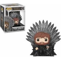 Funko Pop Deluxe: Game Of Thrones - Tyrion Lannister Sitting On Throne Vinyl Figurine