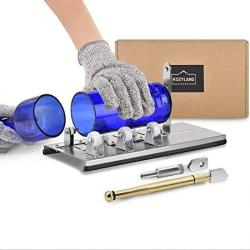Bottle Cutter & Glass Cutter Kit For Cutting Wine Bottle Or Jars To Craft Glasses Gloves Not Included