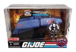 Hasbro Gi Joe 25TH Anniversary Cobra H.i.s.s. With Cobra Driver - Attack On Cobra Island