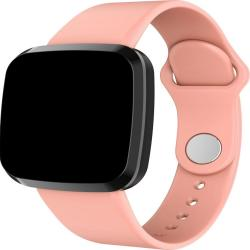P3 1.3 Inch Ips Color Screen IP68 Waterproof Smart Watch Wristband Support Message Reminder Heart Rate Monitor Blood Oxygen Monitoring Blood Pressure Monitoring Sleeping Monitoring Pink