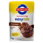 Snowflake - Easymix Muffin Mix Chocolate Packet 1KG