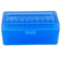 Berry's 404 Blue Ammo Box 30CARB 22HORNET 50RD