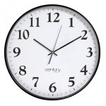 Century Boston Clock Black 45 Cm