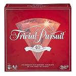 Hasbro Gaming Trivial Pursuit 40TH Anniversary Ruby Edition