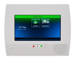 """HONEYWELL Lynx Touch 7000 Control System By 7"""" Full-color Touchscreen Wifi Zwave Compatible"""
