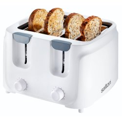 Salton - 4 Slice Cool Touch Toaster ST-401