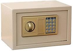 USA Zcf Security Safes Safe Box Digital Small Steel Electronic Safe Deposit Box Anti-theft Safes With Lock Keypad For Money Jewelry Security Cabinet Col