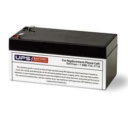 UPSBatteryCenter Replacement battery set for Toshiba PR00015P31 12V 7.2Ah F2