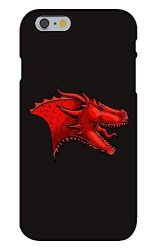 Single Dragon Head Game Crest Tv Show Parody - Customized Snap On Phone Case Compatible With Iphone 8 8S Dragon