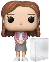 USA Funko Tv: The Office - Pam Beesly Pop Vinyl Figure Includes Compatible Pop Box Protector Case