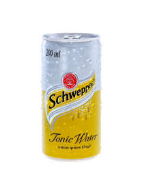 Schweppes Soft Drink Can Tonic Water 24 X 200ml