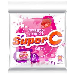 Super C MINI Roll Strawberry Strawb 150 G