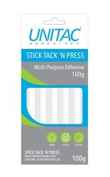 Unitac : Stick Tack 'n Press Multi-purpose Adhesive
