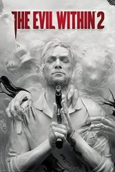 The Evil Within 2 - Gaming Poster print Game Cover key Art Size: 24 Inches X 36 Inches Poster & Poster Strip Set