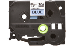 Brother Compatible Tze 561 Black On Blue Labelling Tape 36MM