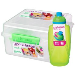 Sistema - Lunch Cube Maxi With Bottle