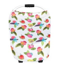 MOKOQI Baby Car Seat Canopy Nursing Breastfeeding Cover Scarf Safety Baskets Sunshade Towel Shopping Cart Stroller Li