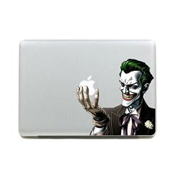 Echohc Color Joker Holding Apple Logo Diy Personality Vinyl Decal Sticker For Apple Macbook Pro Air 13 Inch Laptop Case Cove R58500 Arts