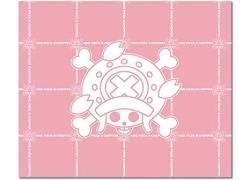 One Piece Pink Chopper Skull Icon Throw Blanket