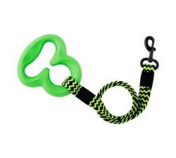 Elastic Octobungee Leash Green