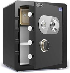 USA Zcf Security Safes Home Security Safes Mechanical Deposit Box Large Capacity Includes Keys Office Hotel Jewelry Cash Use Storage Cabinet Wall-mounted
