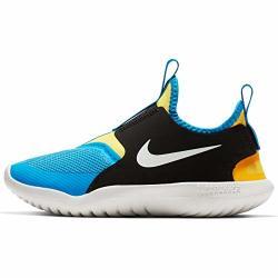 Nike Kids' Preschool Flex Runner Running Shoes 2.5 Black yellow royal