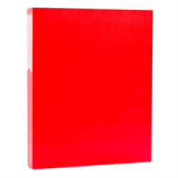 PVC Ringbinder Casemade: Red Retail Packaging No Warranty