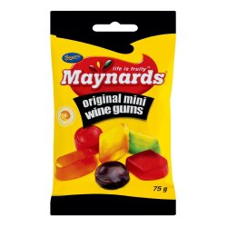 Maynards Sweets Packet Wine Gums 75 G