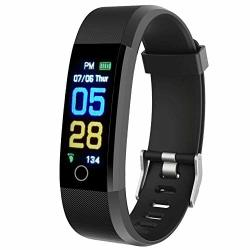 Fitness Tracker Ergongear Watch With Heart Rate And Blood Pressure Monitor Step And Calorie Counter IP67 Waterproof Cold Water Only Smart Band For Women