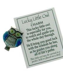Ganz, Inc. Lucky Little Owl Charm