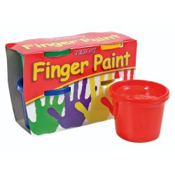 Teddy Finger Paint Set