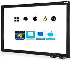 Chengying 46 Inch 10 Points Multi-touch Infrared Touch Frame Ir Touch Panel 46 Inches Infrared Touch Overlay USB Driver Free Hid
