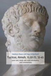 Tacitus Annals 15.20-23 33-45 Paperback
