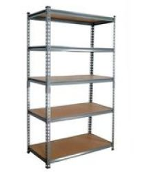 Infinity Homeware 5-TIER Shelving Unit - Grey - 900 X 450 X 1800MM