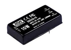Mean Well DKE10B-12 - +12V - +42 - +420MA 10W Dc-dc Regulated Dual Output Converter Dc dc Converter