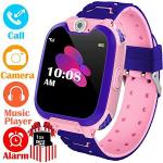 Kids Smart Watch For Boys Girls - HD Touch Screen Sports Smartwatch Phone With Call Camera Games Recorder Alarm Music Player For