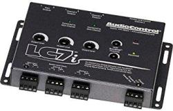 Audiocontrol LC7I Black 6-CHANNEL Line Output Converter With Bass Res