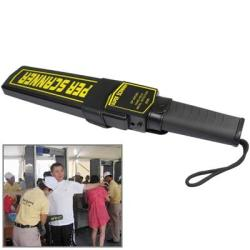 Portable Hand-held Security Metal Detector Gp 3003B1 Black